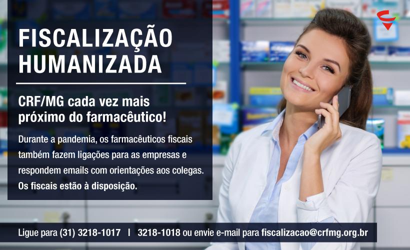 Fiscalização do CRF/MG está à disposição dos farmacêuticos